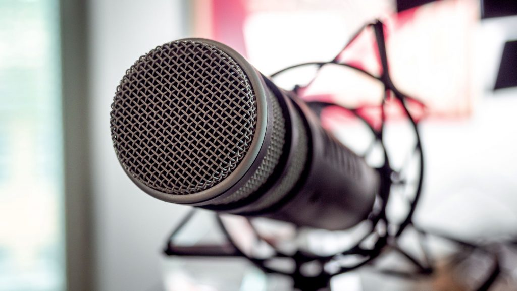 microphone to signify manufacturing and technologygrant podcast